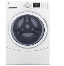 NEW GE 27  ENERGY STAR White Front Load Washer 4 5 cu ft  Stackable Time Saver