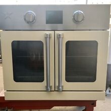 Blue Star BSEWO30ECSD 30  Single Ivory Electric Wall Oven NOB