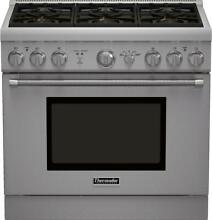 Thermador Pro Harmony Professional Series PRG366GH 36 Inch Pro Style Gas Range w
