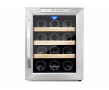 Kalamera 12 Bottle Small Wine Cooler  thermolectric  stainless steel