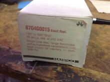 Electric oven thermostat 6704g0015  Box7