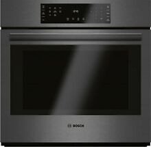 HBL8442UC BOSCH 30  SINGLE CONVECTION WALL OVEN BLACK STAINLESS IN BOX