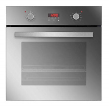Empava 24  Electric Convection Single Wall Oven 10 Cooking Functions Deluxe 360