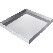 32 x32  Washing Machine Pan 304 Stainless Steel Spill Washer Machine Tray Home
