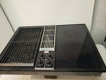 Jenn Air Downdraft Cooktop C228 Black Cartridge Stovetop Glass Grill Range