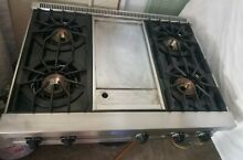 36  Viking  Professional Rangetop Cooktop W  Griddle