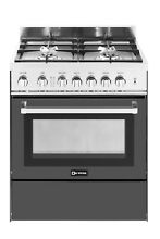 Verona VEFSGG304NE 30  4 Burner Gas Range Single Oven Matte Black