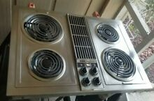 Jenn air c221 stainless downdraft cooktop Grill kit