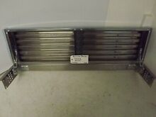 Sub Zero 36 Inch Pro Louvered Stainless Grille 7003543