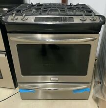 Frigidaire FGDS3065PF Stainless Steel 30  Dual Fuel Convection Range Brand New