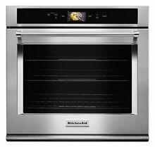KitchenAid   Smart Oven  30  Built In Single Electric Convection Wall Oven