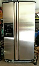 Stainless Steel Side by Side KitchenAid Refrigerator Freezer KSR271