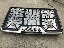 Thermador Masterpiece Series Stainless 5 Star Burner 36  Gas Cooktop Range Stove