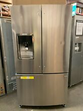 Electrolux Wave Touch 36 In Counter Depth French Door Refrigerator 21 5 cu  ft