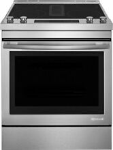JennAir JES1750FS 30 Inch Slide In Professional Electric Range  stainless steel