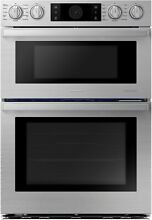 Samsung NQ70M9770DS 30 Inch Smart Electric Microwave  Wall Oven  Stainless Steel