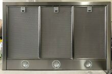 Thermador Masterpiece HMCN36FS Wall Mount Chimney Range Hood  Stainless steel