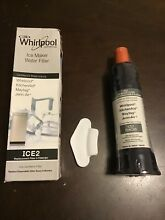 Whirlpool Ice Maker Water Filter   F2WC9I1 ICE2   Reduce Taste   Odor