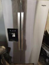 Whirlpool 21 Cubic ft Side by Side   NEW or STORE RETURN   NOT WORKING   AS IS