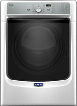 MAYTAG MGD5500FW 27 Inch 7 4 cu  ft  Gas Dryer with PowerDry System and Advanced