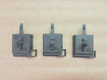 GE Washer Dryer Switches SET 228C1256G002 228C1256G006