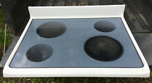 Frigidaire 30  Range Glass Top with 4 Burners cooktop stove FEF366CSE electric