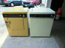KENMORE APARTMENT SIZE WASHER   ELECTRIC DRYER USED YOU PICK UP IN LORAIN OH