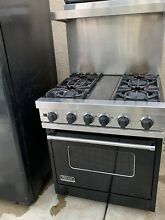 Viking 30  Convection Oven Freestanding Dual Fuel Range And Hood Pick Up Only