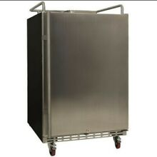 EdgeStar BR7001 24 W Kegerator Conversion Refrigerator for Full   Stainless