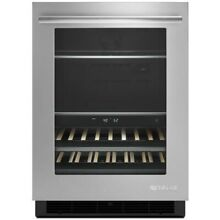 JennAir JUB24FRERS 24 Inch Built In Undercounter Beverage Centre Stainless Steel