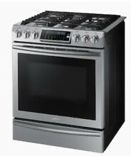 Samsung NX58H9500WS 5 8 cu  ft  Gas Convection Stainless Range Oven Stove  1031