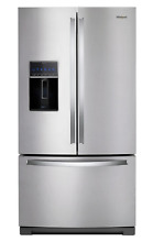 Whirlpool WRF757SDHZ  27 cu  ft  Stainless Steel French Door Refrigerator New
