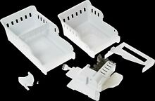 GE 3 lbs  Optional Second Ice Maker Kit in White for GE Bottom Freezers  IM5D