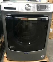 Maytag MHW8630HC 27 Inch Smart Front Load Washer  Metallic Slate