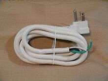 DANBY PORTABLE DISHWASHER MODEL DDW621WDB OEM REPLACEMENT PART POWER SUPPLY CORD