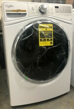 Whirlpool Duet WFW9290FW 27 Inch 4 2 cu  ft  Front Load Washer  white