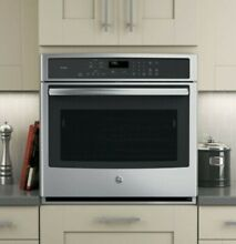 GE Profile Self cleaning True Convection Single Electric Wall Oven PT7050SFSS