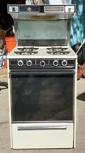 Kenmore Cassette 24 Inch Gas Stove W Built in Exhaust  Back Light Clock All in 1