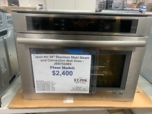 JennAir Euro Style Series JBS7524BS 24 Inch Single Steam Electric Wall Oven