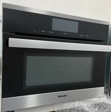 Miele PureLine Series H6800BM 24 Inch Speed Oven  stainless steel