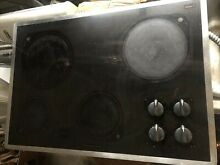 Kitchenaid KECC501BBL2 36 inch Electric Glass Cooktop Works  As Is NYC NH  area