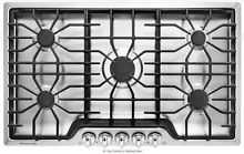 Frigidaire FFGC3626SS 36  Stainless Steel 5 Burner Gas Cooktop