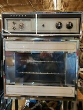 Vintage Tappan Electric Wall Oven Right Hand Swing Door Working Late 1960 s