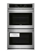 Frigidaire 30 in Self Cleaning Double Electric Stainless Wall Oven