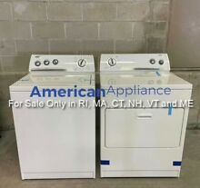 Whirlpool Washer and Dryer Set  For Sale Only in RI  MA  CT  NH  VT and ME