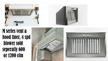 Vent a hood liner 28 3 8  wide  30 inch wide with your box surround  M28PSLDSS