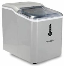 FRIDGEDAIRE COUNTERTOP MINERAL WATER ICE MAKER MACHINE EFIC206 B TG SILVER