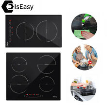 2 4 Burners Induction Electric Cooktop Touch Control Power Levels Safety IsEasy