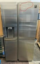 Samsung RS22T5201SR 36  Counter Depth Side by Side Refrigerator  stainless steel
