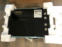 GE JP3030SJSS 30  Stainless Steel Trim Electric Cooktop Radiant Heat New In Box